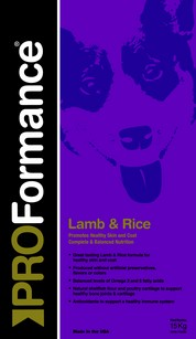 PROFormance Lamb rice 3kg
