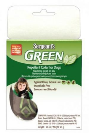 Green Repellent Dog Collar 60cm